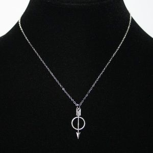 Nwt Silver arrow necklace pendant